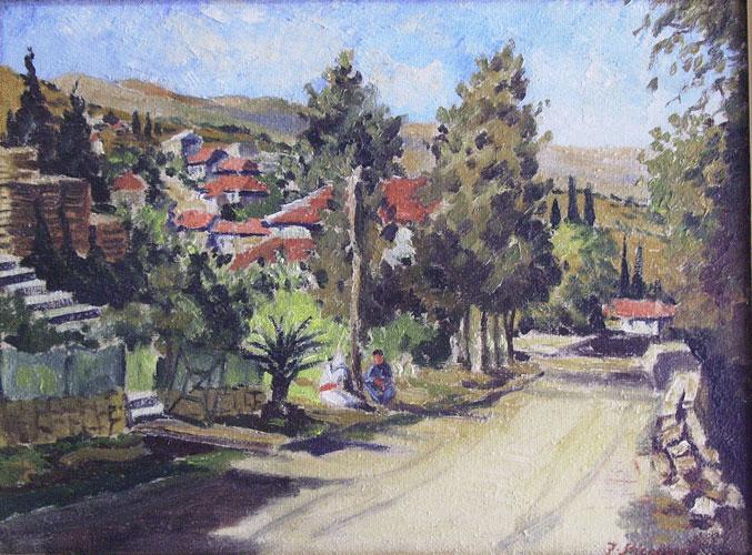 Engel Gallery, art galleries in Israel, Israeli art - Artists - Rosh